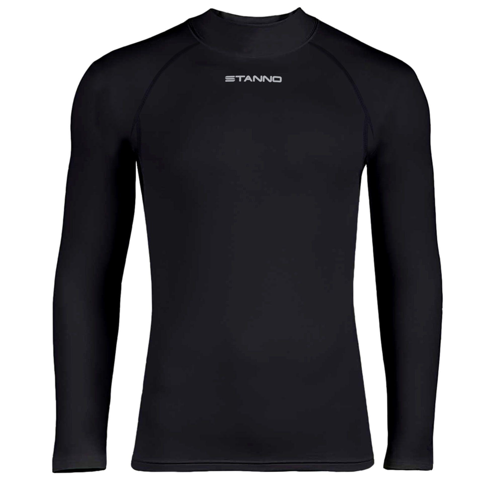 Ondershirt Thermoshirt Lange Mouw Zwart