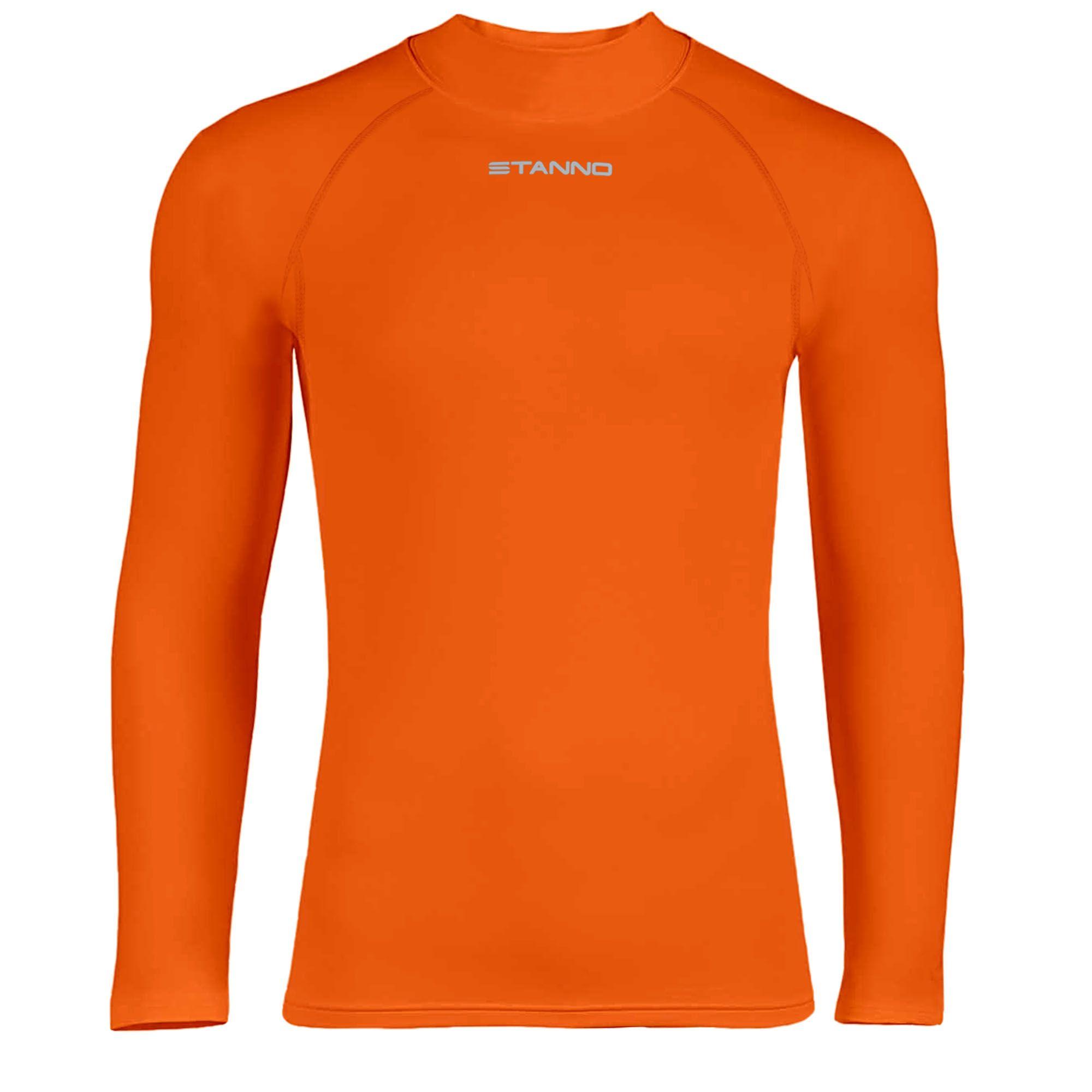 Ondershirt Thermoshirt Lange Mouw Oranje