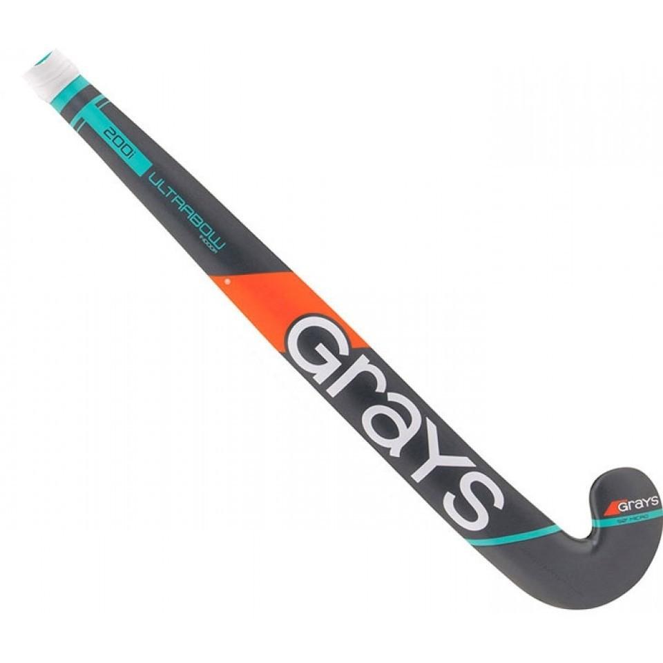 Zaalhockeystick 200i Ultrabow Junior Teal