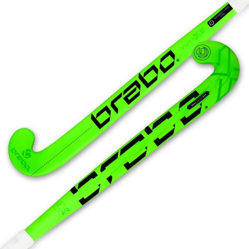 Hockeystick Elite X-3 Low Bow II Fluor Lime