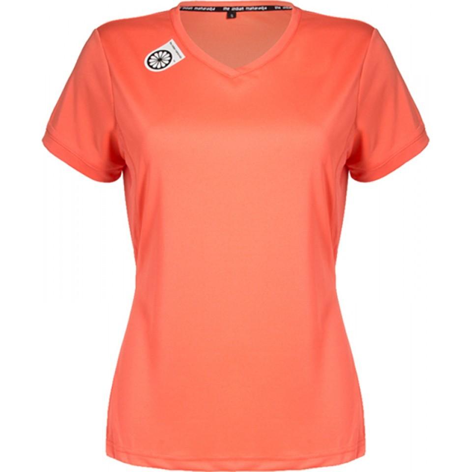 Tech T-shirt Women Coral