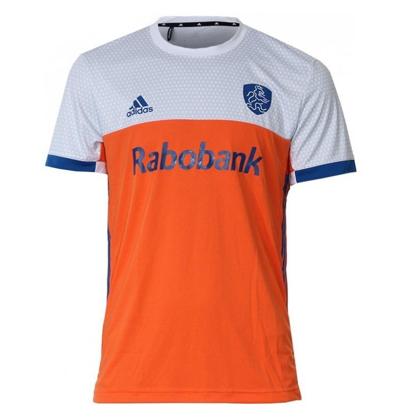 Hockey Shirt Nederlands Elftal Kids Thuis Oranje