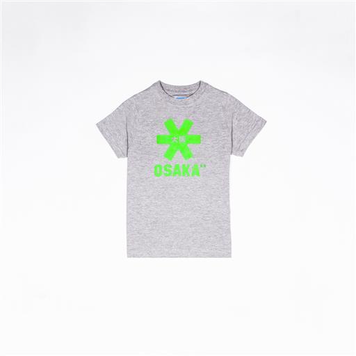 T-shirt Deshi Tee Grey Melange Green Star