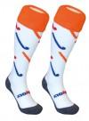 HKTSTICKRWB Hingly Hockeysokken Sticks Rood Wit Blauw