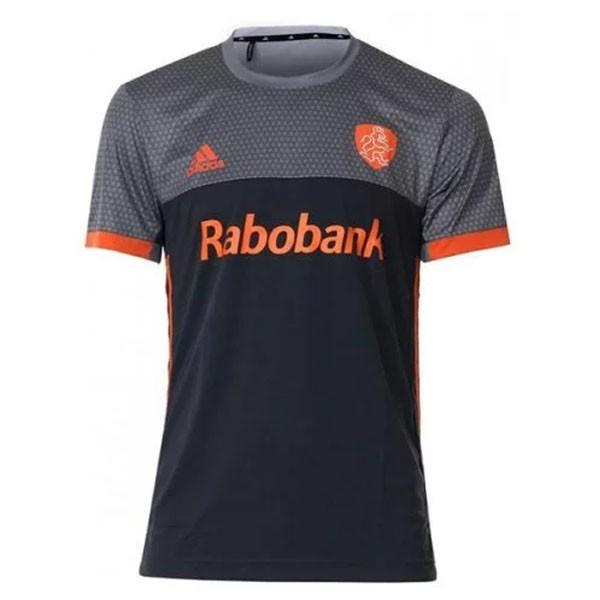 BR9979 adidas Hockey Shirt Nederlands Elftal Heren Uit Grijs