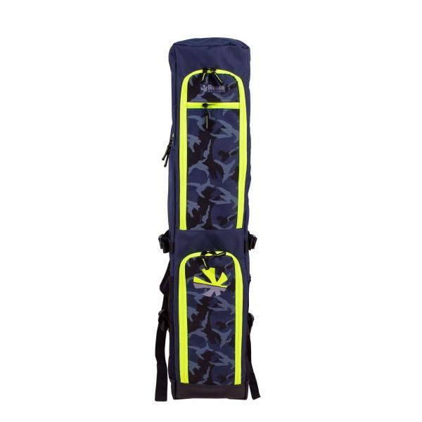885809-7400 Reece Junior Stickbag Navy Geel