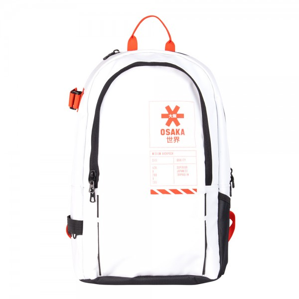 11486003-90166 Osaka Pro Tour Medium Backpack Rocket White