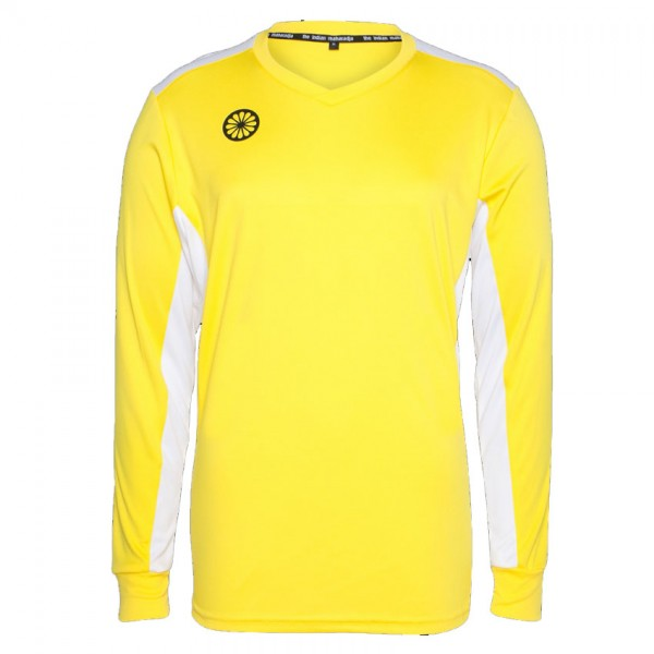 T4-yellow The Indian Maharadja Keepershirt Longsleeve Geel