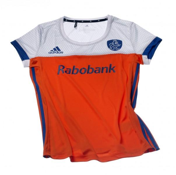 BR9970 adidas Hockey Shirt Nederlands Elftal Dames Thuis Oranje