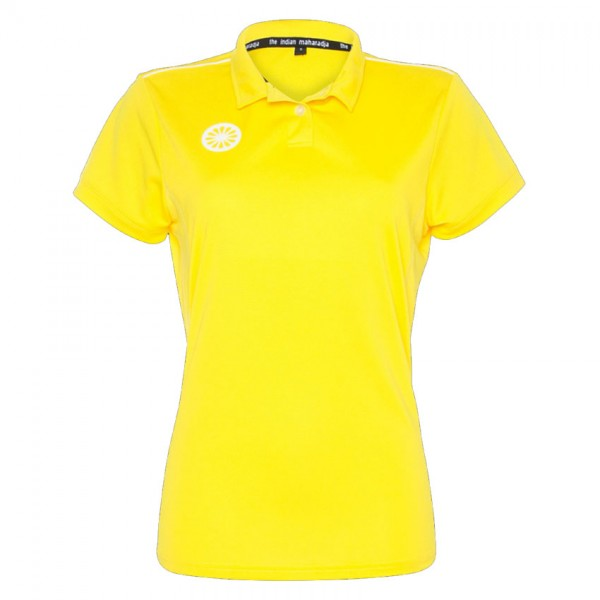 T800-Yellow The Indian Maharadja Hockey Polo Dames Geel