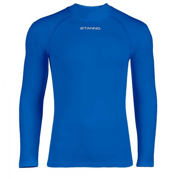 446100-5000 Stanno Ondershirt Thermoshirt Lange Mouw Blauw