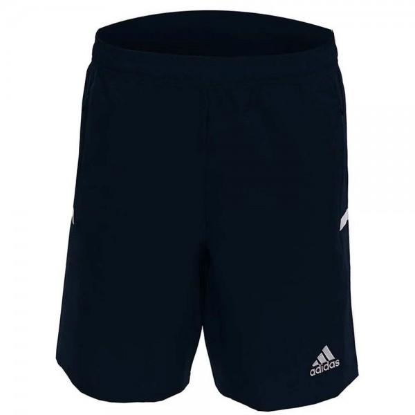 MT19SHYN adidas Hockeybroekje T19 Woven Short Boys Navy White