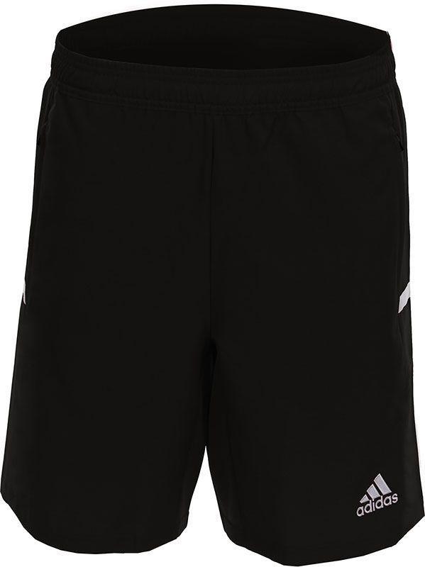 MT19SHYB adidas Hockeybroekje T19 Woven Short Boys Black White