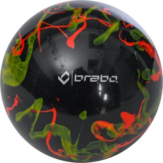 319.03080.020 Brabo Hockeybal Swirl Ball Black