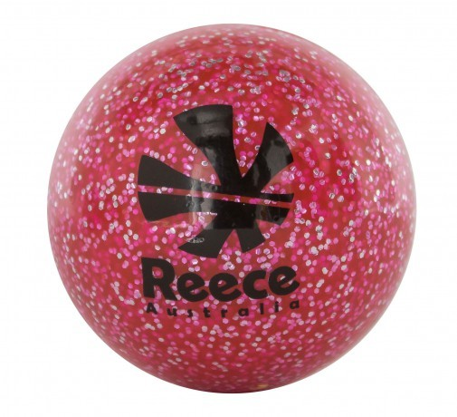 889006-3888 Reece Hockeybal Glitter Roze