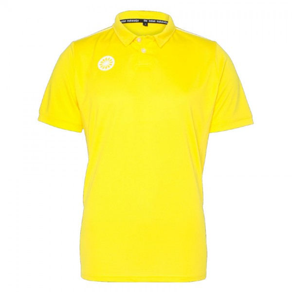 T700-Yellow The Indian Maharadja Hockey Polo Heren Geel